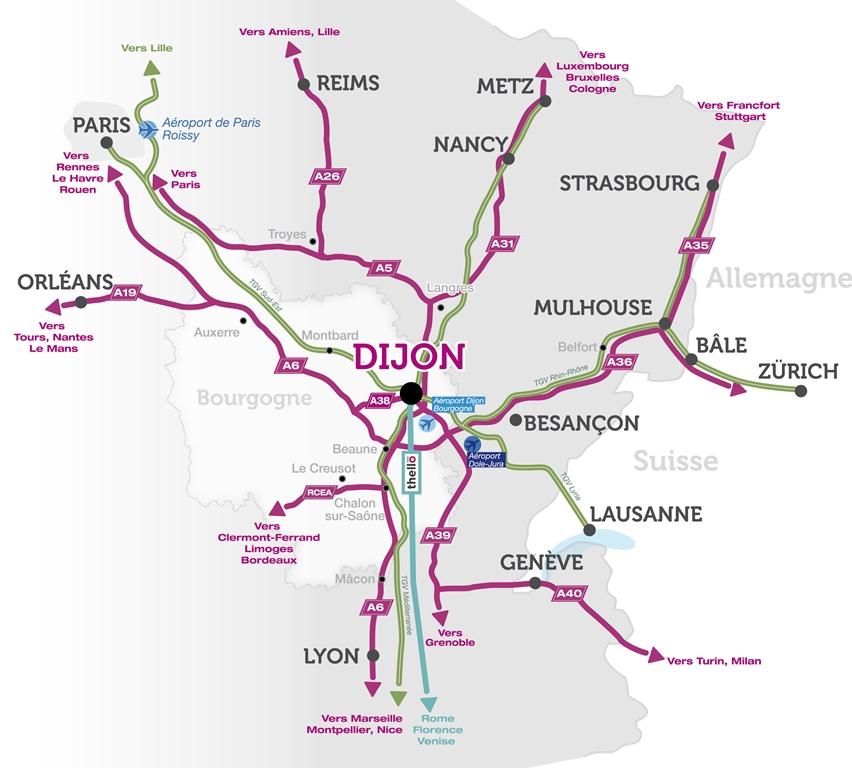 Capitale De La Bourgogne Franche Comte Dijon Capitale Ville De Dijon
